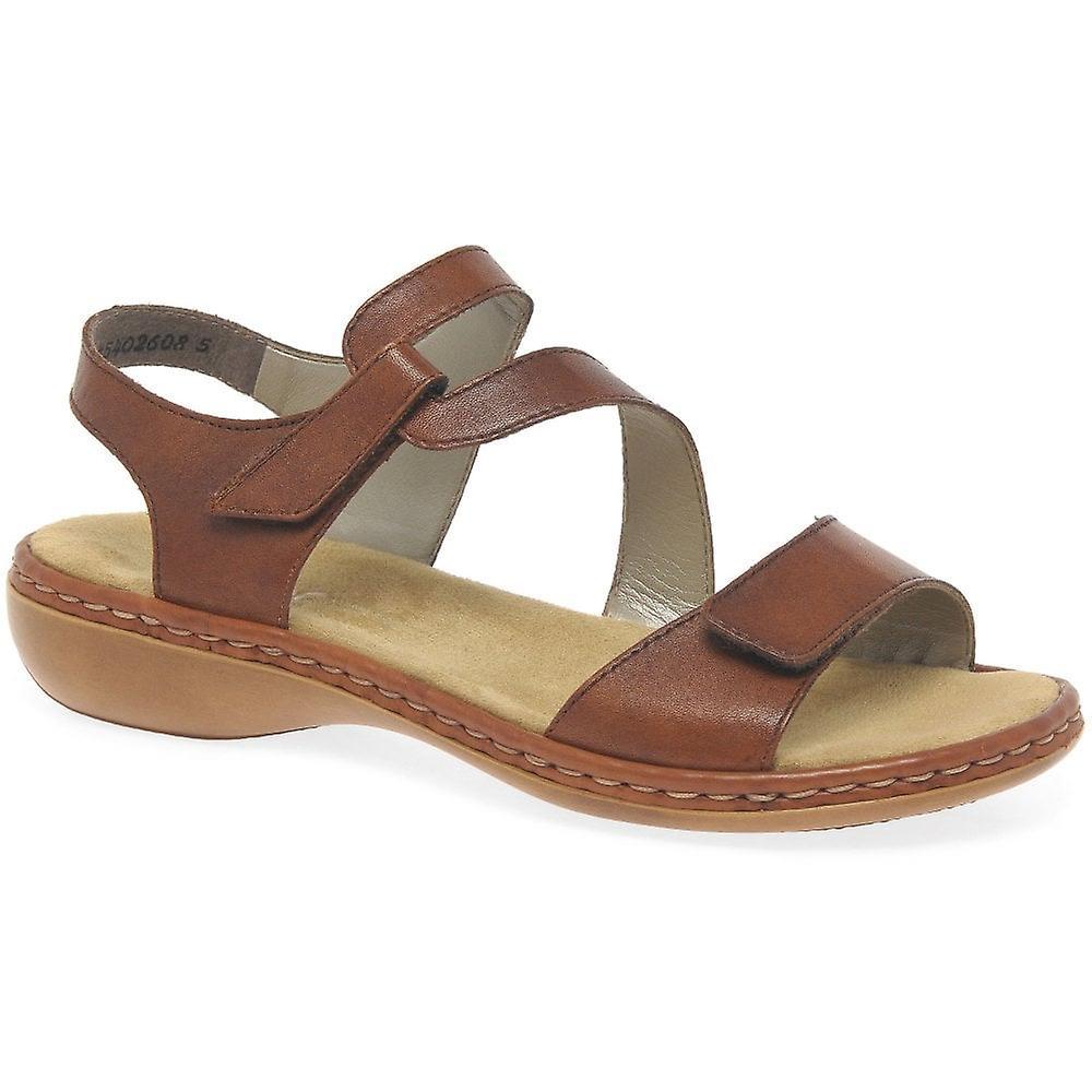 Rieker Sphere Womens Riptape Sandals