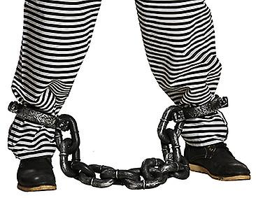 Straffånge fotlänk kedja fånge tillbehör Carnival Carnival JGA  4614956c68742