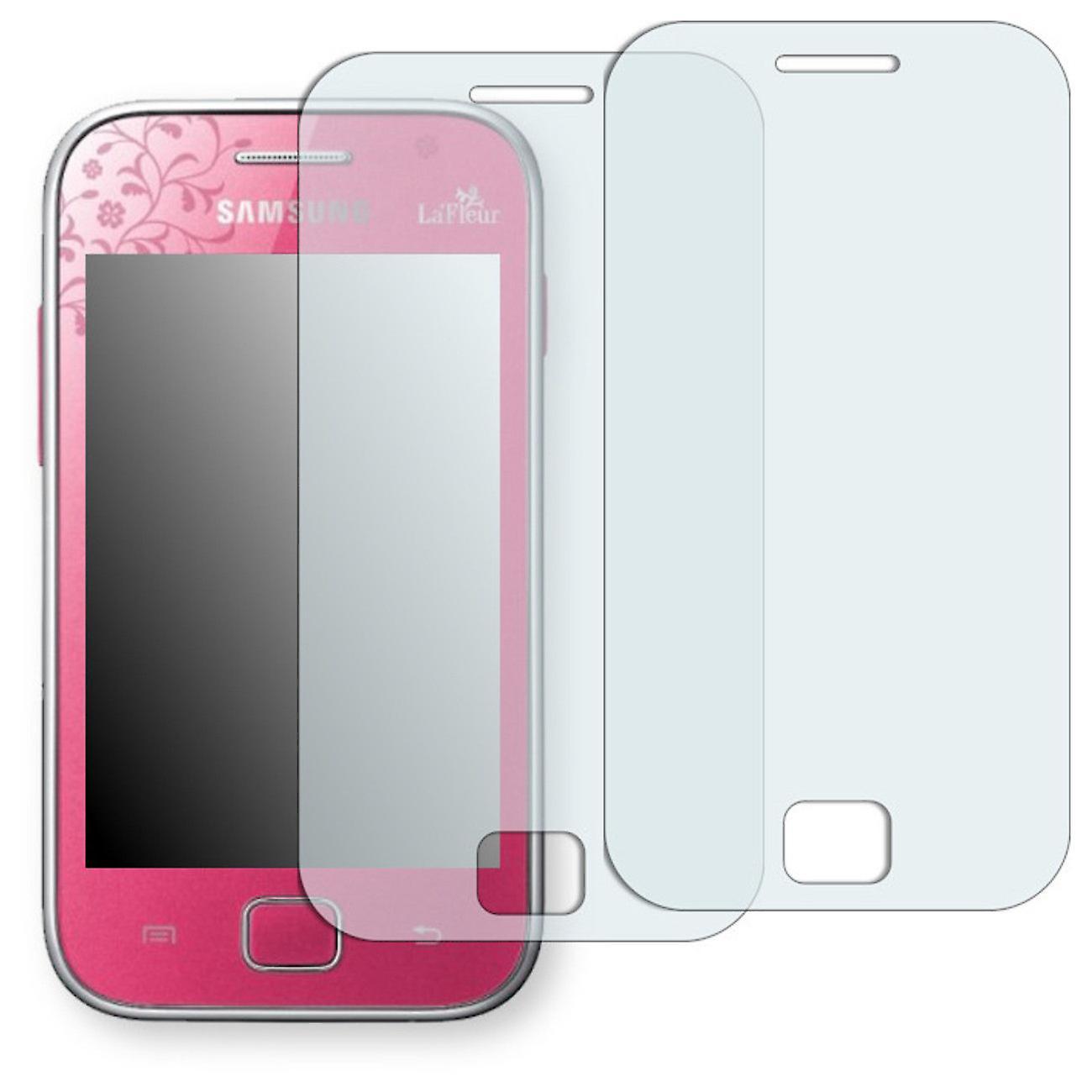 Samsung S6802 Galaxy ACE duo La fleur Edition display protector -  Golebo-semi Matt protector