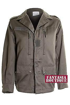 Ladies Army Green Military Style Trench Back Picture Women s Jacket Coat 7332cc813d