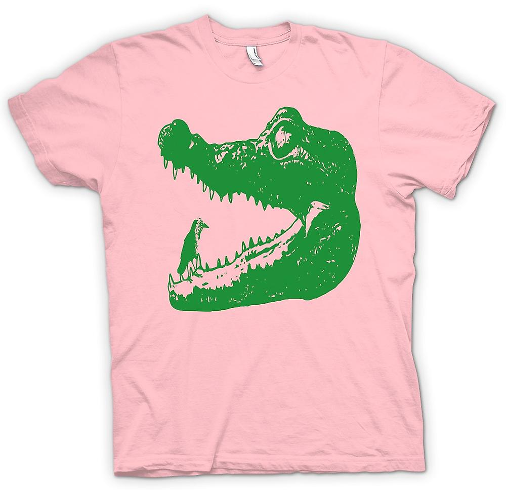 Womens t shirt cool aligator crocodile cool graphic for Graphic design t shirts uk