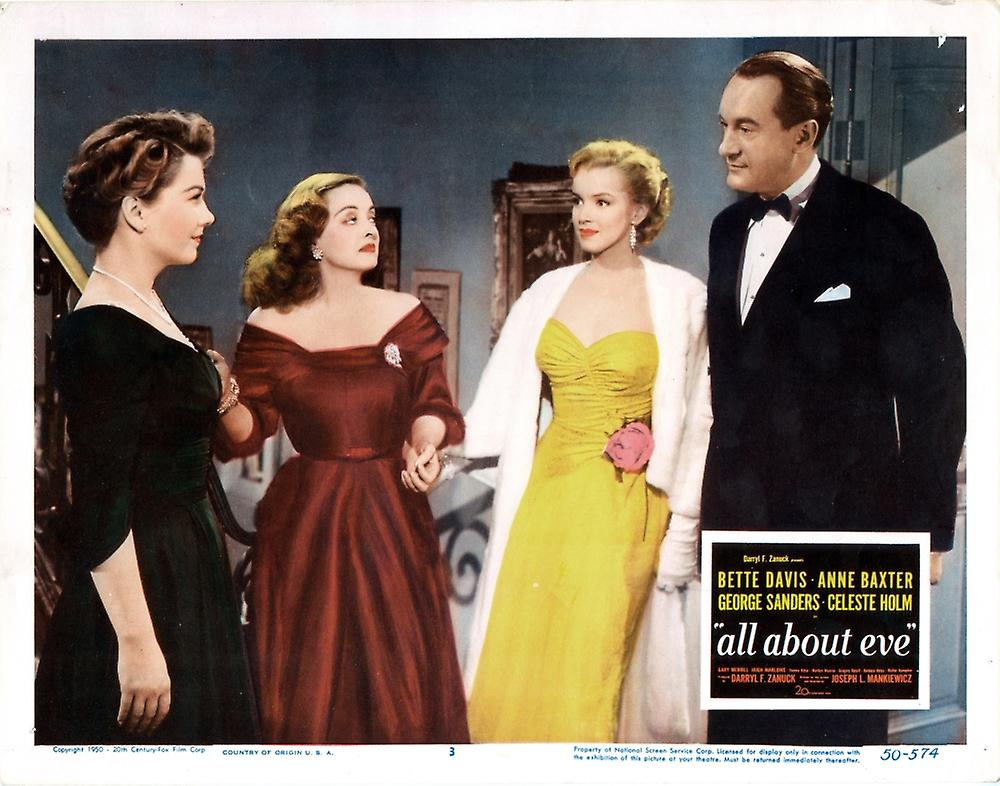 Amazoncom All About Eve Bluray Book Bette Davis