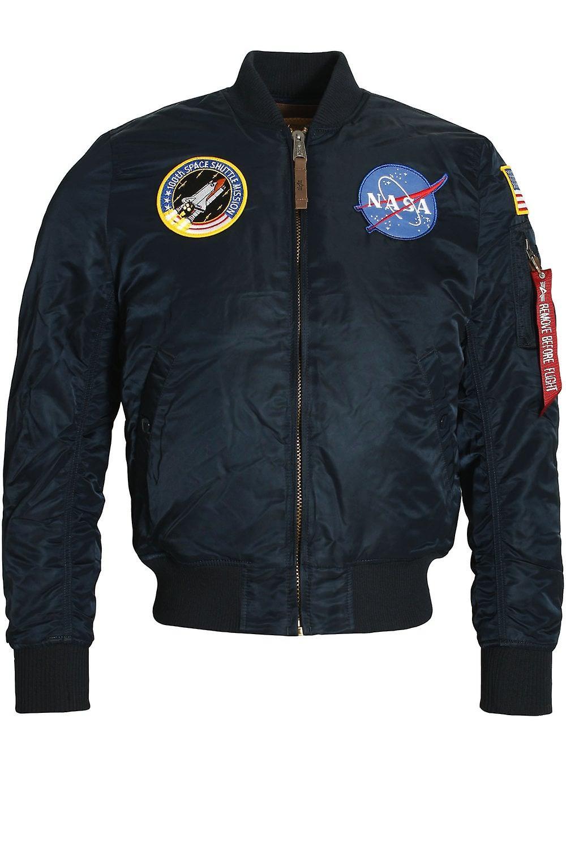 7a02056ed Alpha Industries MA-1 VF NASA Astronaut Flight Jacket | Rep Blue ...