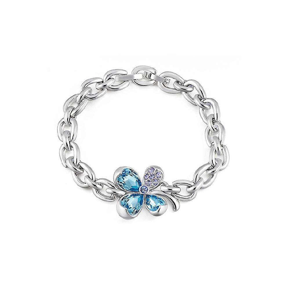 bracelet swarovski trefle