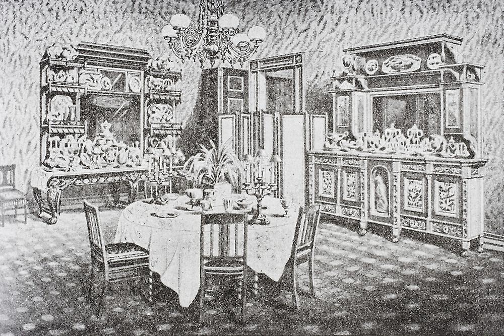 Washington Dc United States Of America Family Dining Room The White House In 1890 S