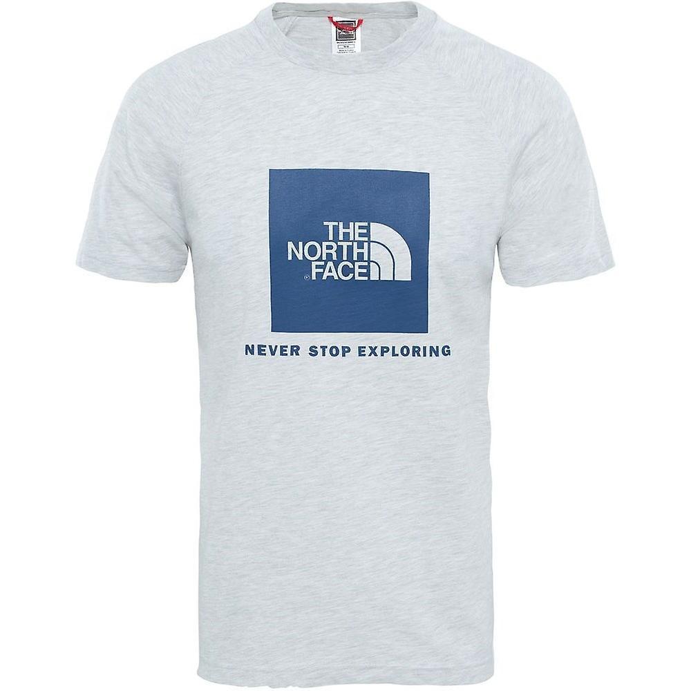 abbe8311b The North Face Tshirt Raglan Red Box T93BQOCEJ men t-shirt