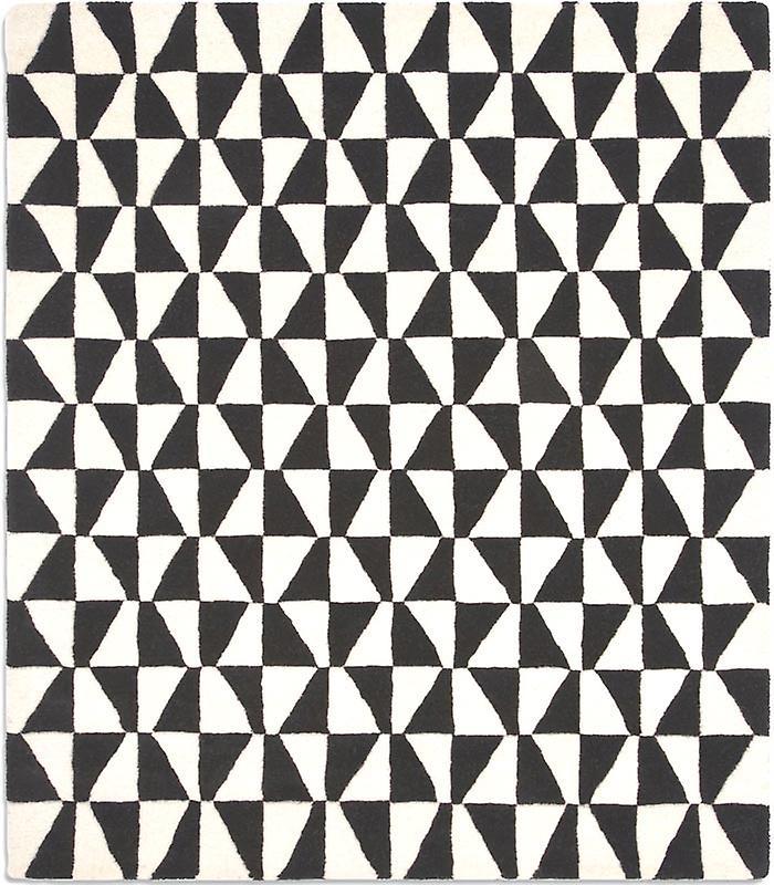 Rugs Geometric Black White Geo01 Fruugo