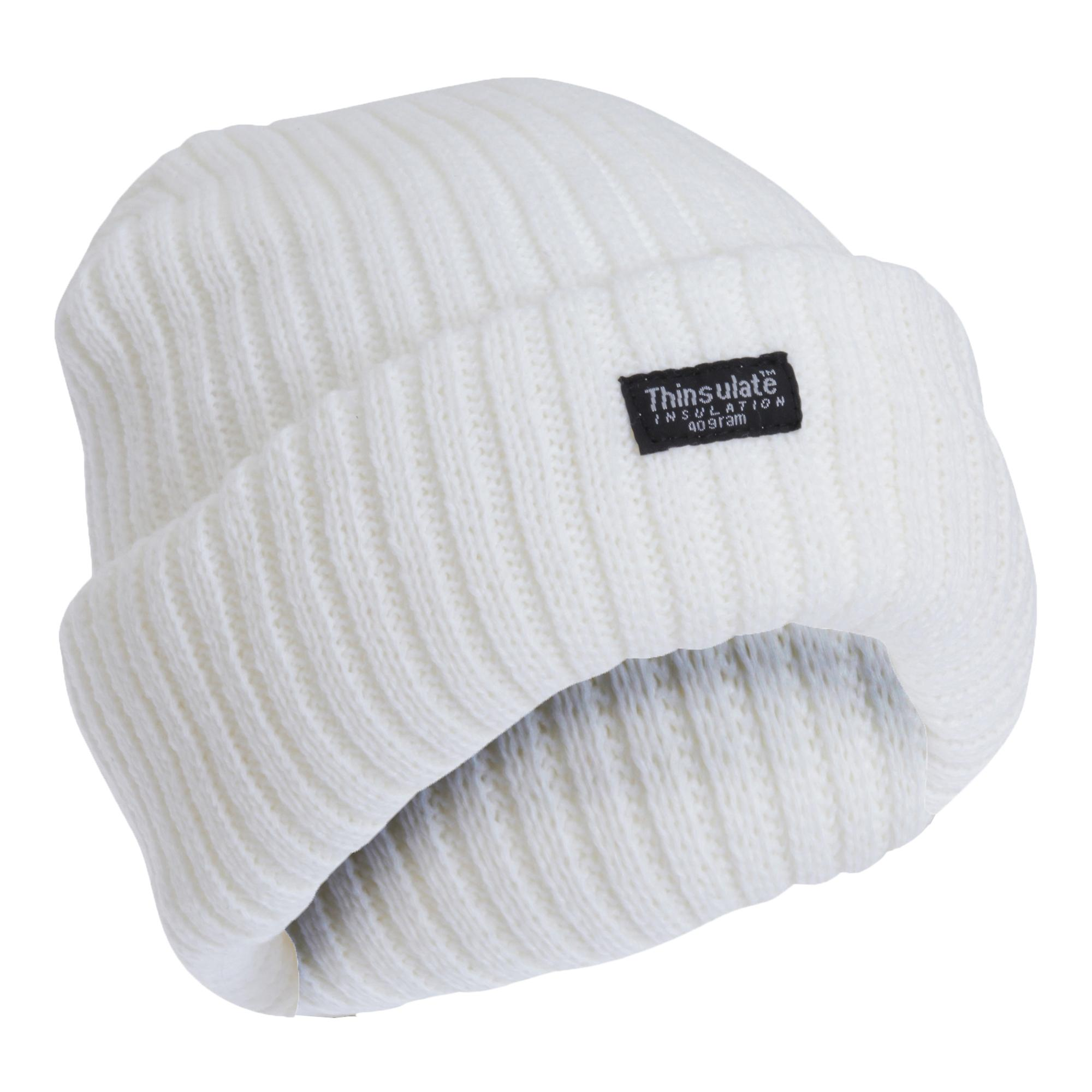 4ce55c3cdea FLOSO Ladies Womens Chunky Knit Thermal Thinsulate Winter Ski Hat (3M 40g)