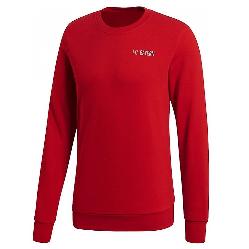 2018-2019 Bayern Munich Adidas Lifestyle Sweat Top (Red)   Fruugo 4f2709c49d1d