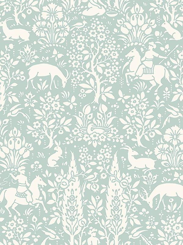 Crown Archives Woodland Wallpaper
