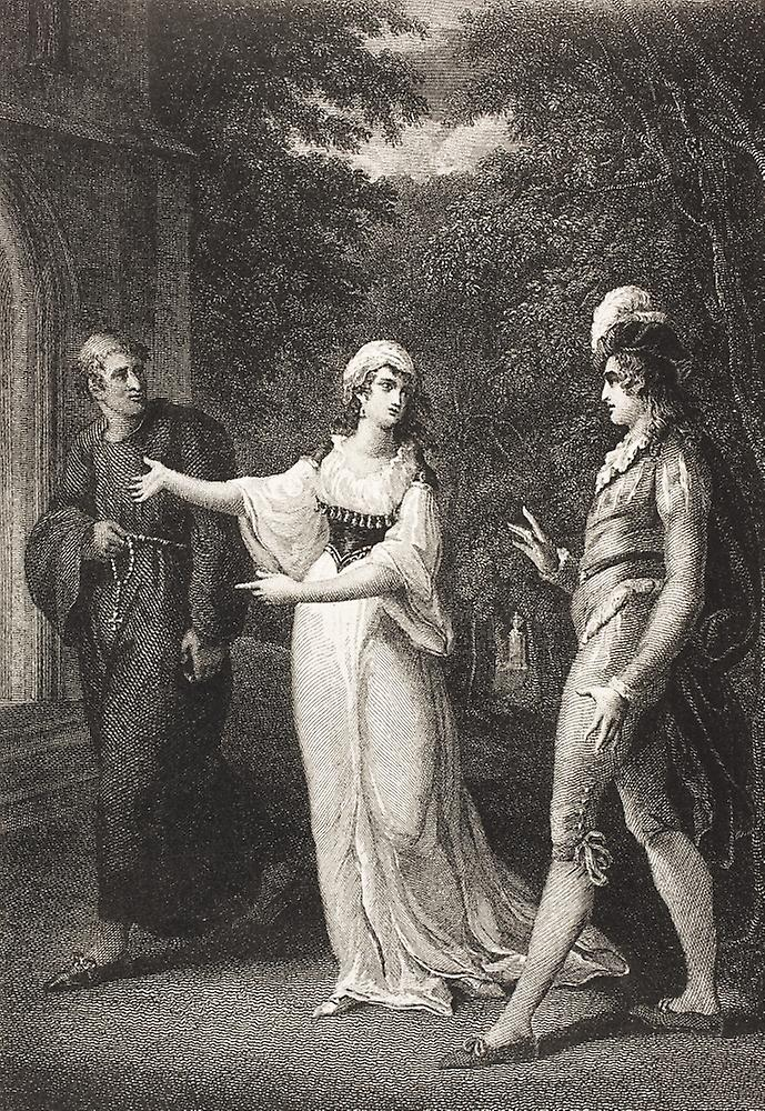 an analysis of the character of malvolio in act 2 scene 3 to act 4 scene 2