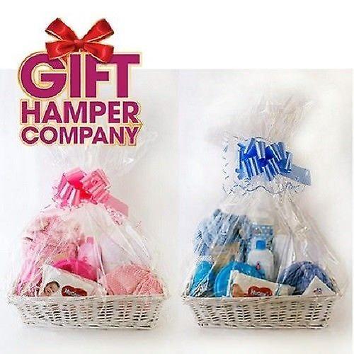 Christmas Hamper Basket.Create Your Own Wicker Gift Hamper Basket Kit Use For Christmas Presents Christening Wedding Baby Shower Or Birthday Gift