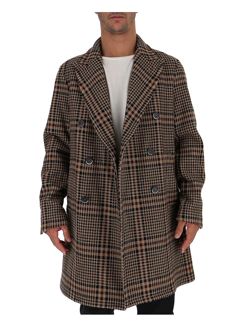 Barena Barena Venezia Venezia Wolle brauner Mantel CxhBtdsQr