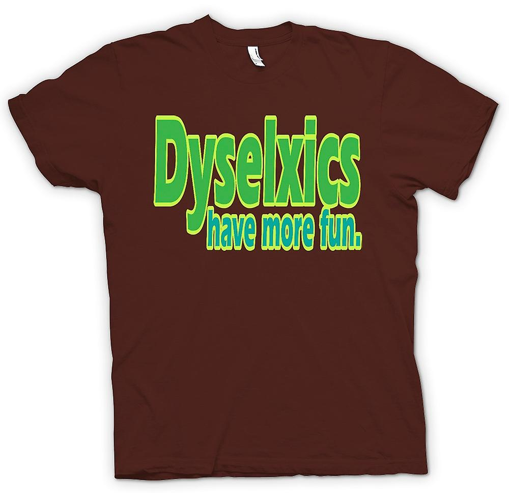 Kinder T Shirt Dyselxics Viel Mehr Spass Zitat Fruugo