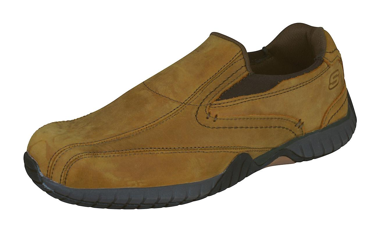 Skechers Sendro Bascom Classic Fit Mens Slip On Leather