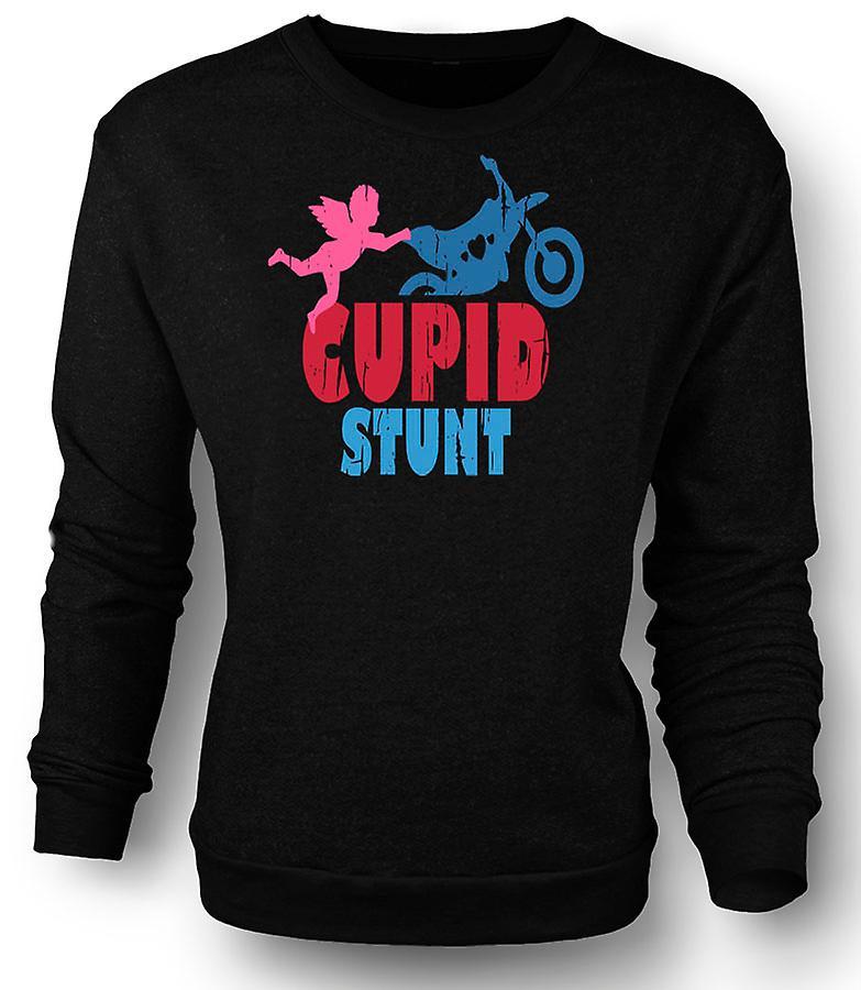 65860a43 Mens Sweatshirt Cupid Stunt - Funny Word Play | Fruugo