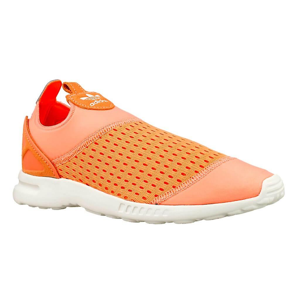 more photos c7e5b d2e65 Adidas ZX Flux Adv Smooth Slip ON W S75740 universal all year women shoes