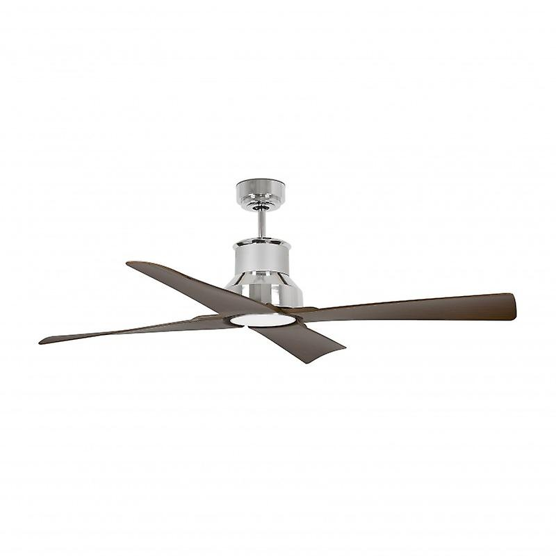 Faro Winche Large Chrome Ceiling Fan Withwithout Light Faro33482