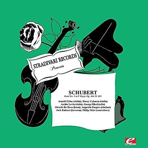 Eidus, Arnold / Cykman / Levin / Ricci - Schubert: Octet No  3 in F Major  Op  166 D  803 [CD] USA import