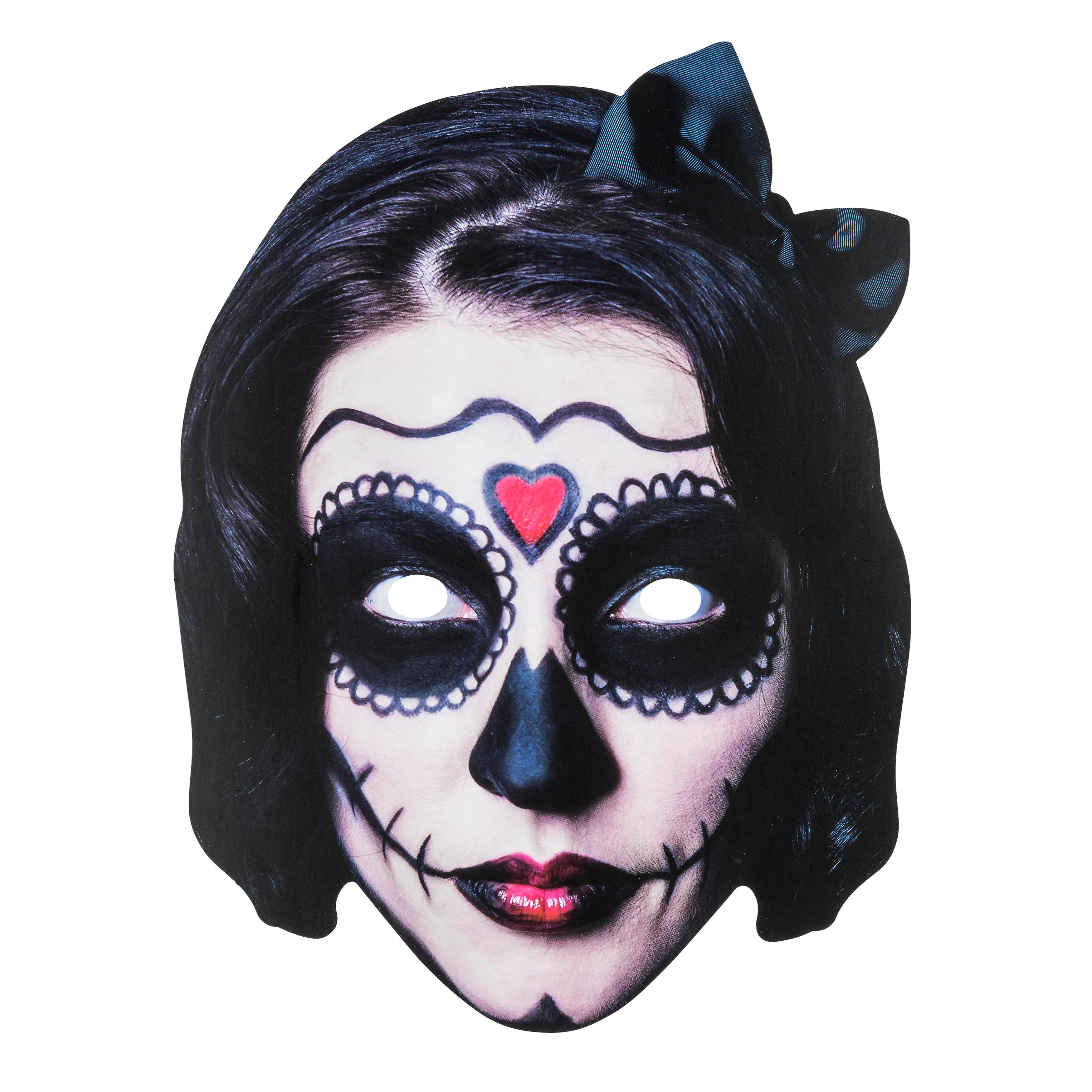 TRIXES Halloween Face Mask Scary Lady 2D Fancy Dress – Parties and Trick or  Treat c00c14f6ae5c0