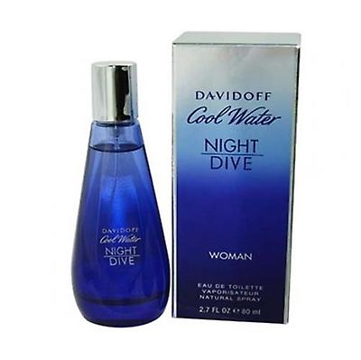Cool Water Night Dive By Davidoff For Women 27oz Eau De Toilette