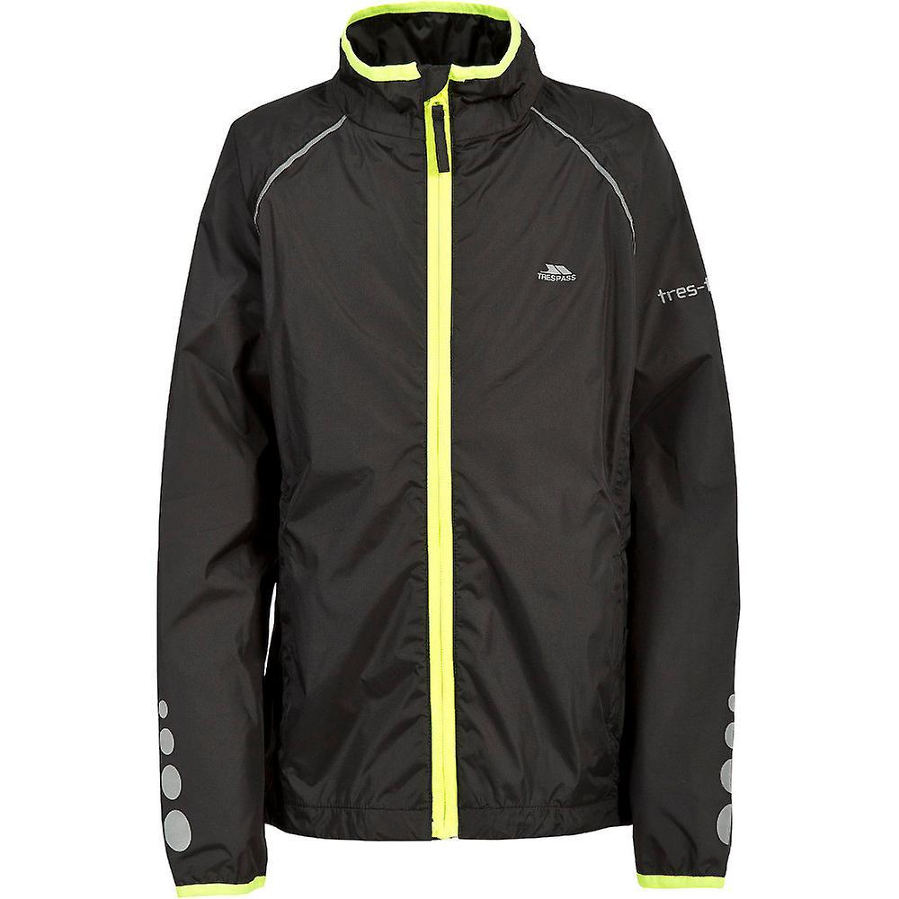 d5c14d75ab2 Trespass Boys & Girls Paceline Waterproof Breathable Rain Shell Jacket