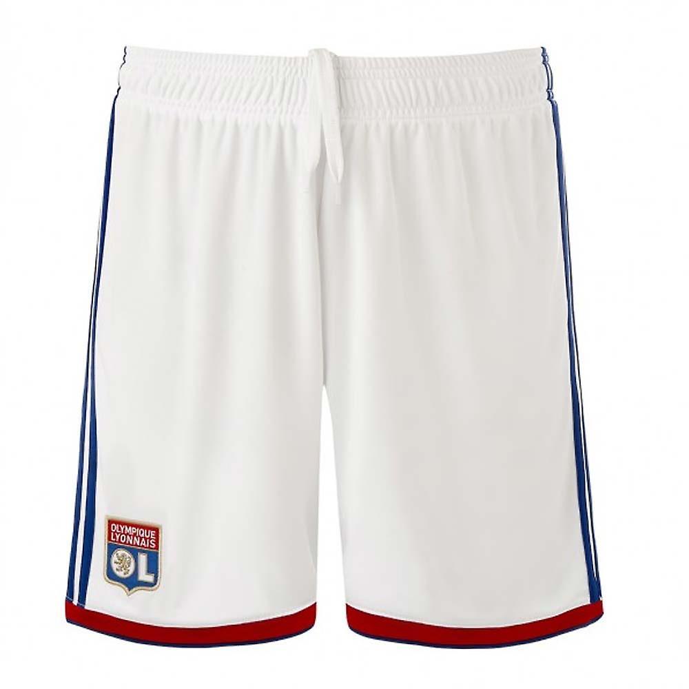87628679 2018-2019 Olympique Lyon Adidas hjem Shorts (hvit) - barn | Fruugo