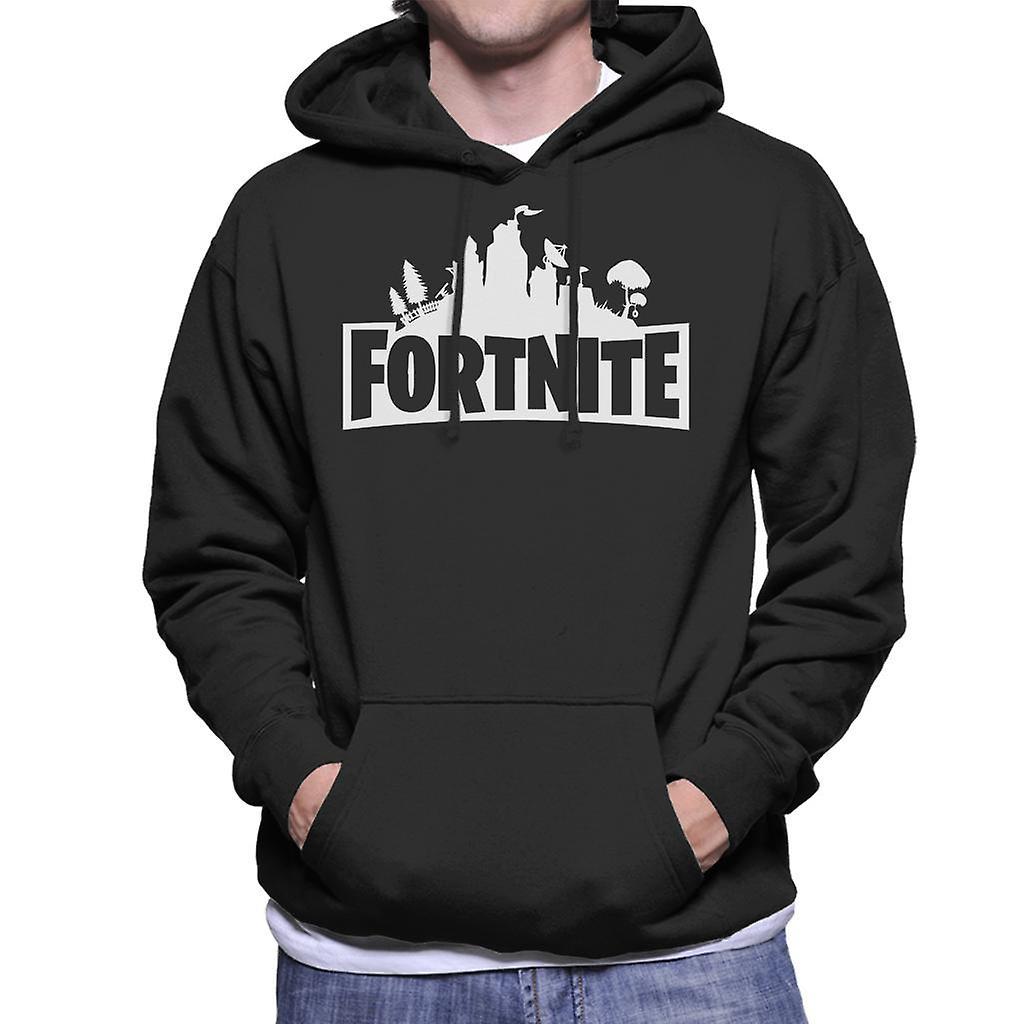 Sweat shirt à capuche Fortnite Logo masculin