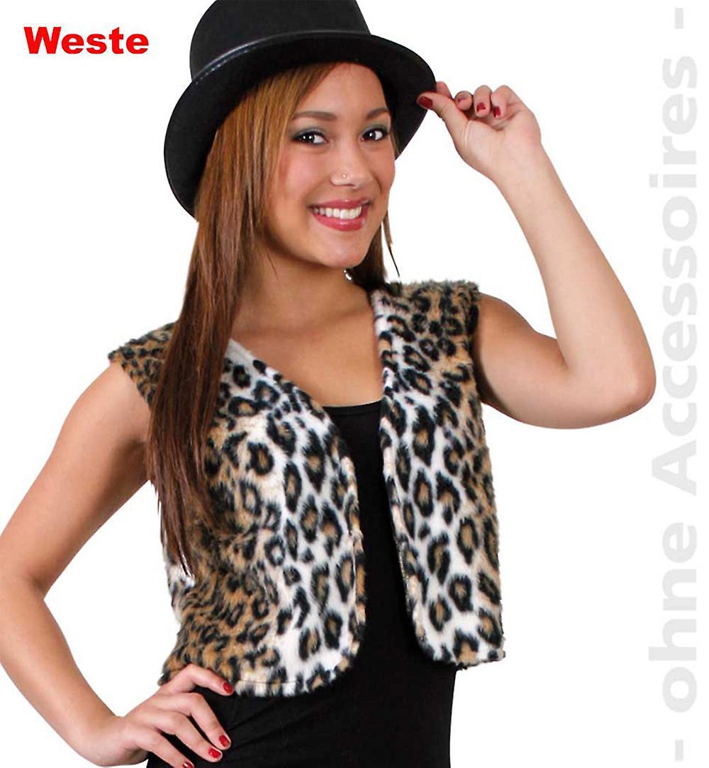 Leopard women s wild cat costume predator cats vest Womens costume ... fc58b3489d