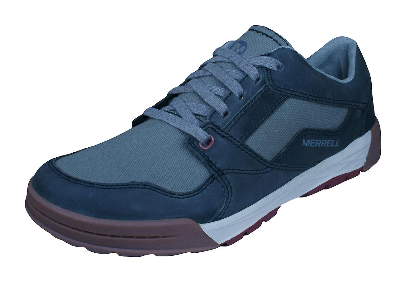 factory outlet 100% genuine fresh styles Merrell Berner Shift Lace Mens Trainers / Shoes - Granite
