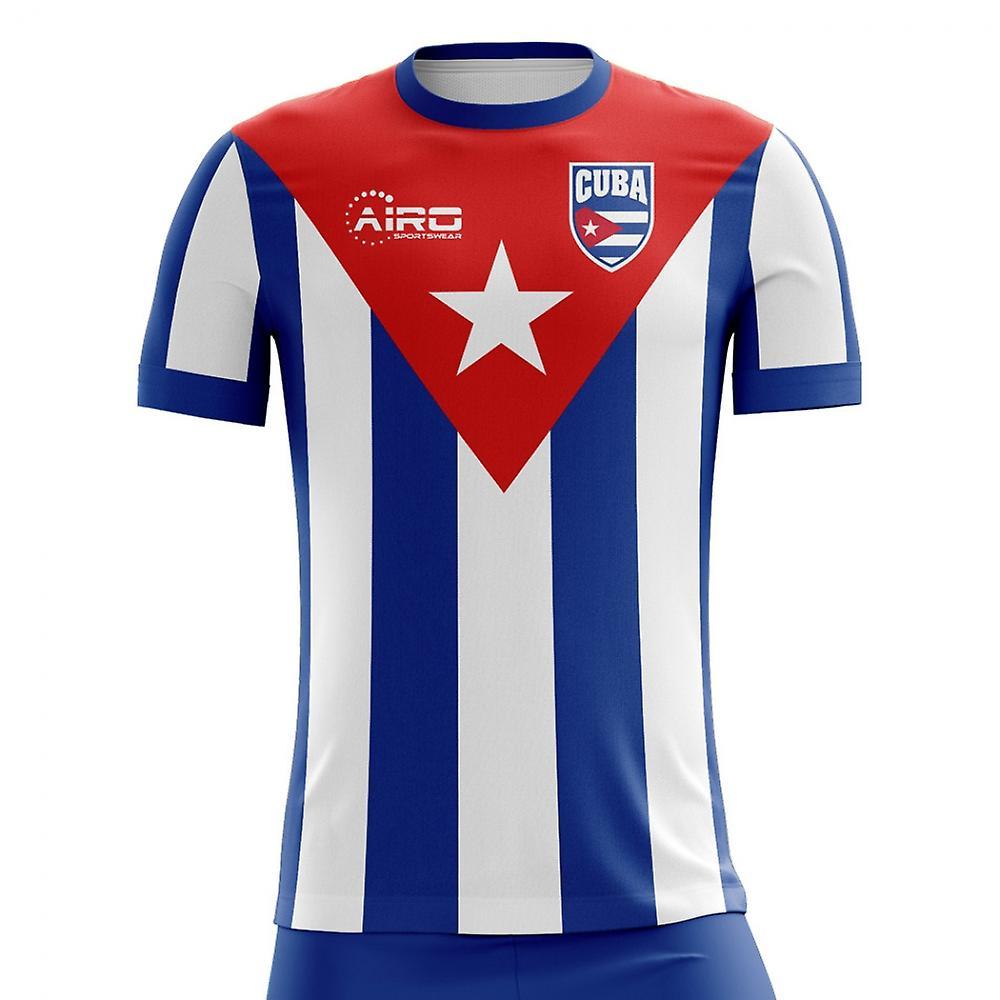 5355b4d63 2018-2019 Cuba Home Concept Football Shirt (Kids)