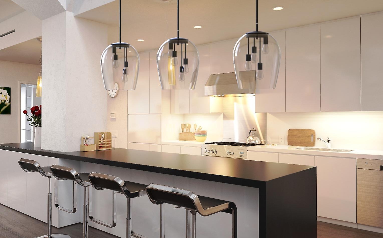 Brillcool Large Modern Ceiling Lamp Dining Room Pendant Light Restaurant Chandelier