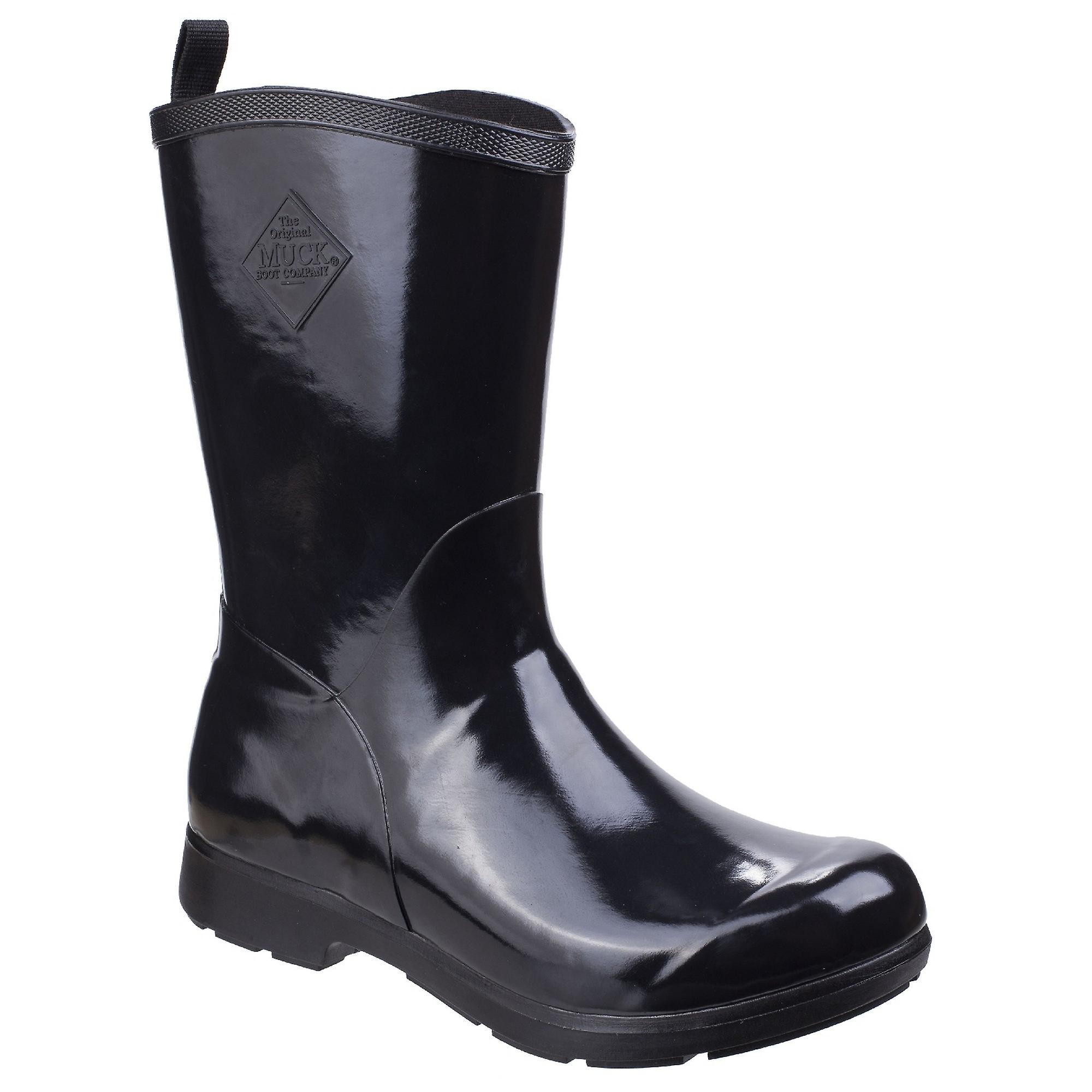 Muck laarzen Womensdames Bergen midden lichtgewicht regen laarzen