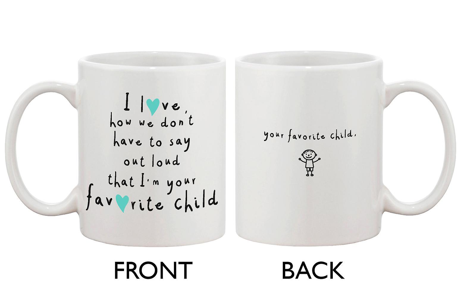 Cute Ceramic Coffee Mug for Mom from