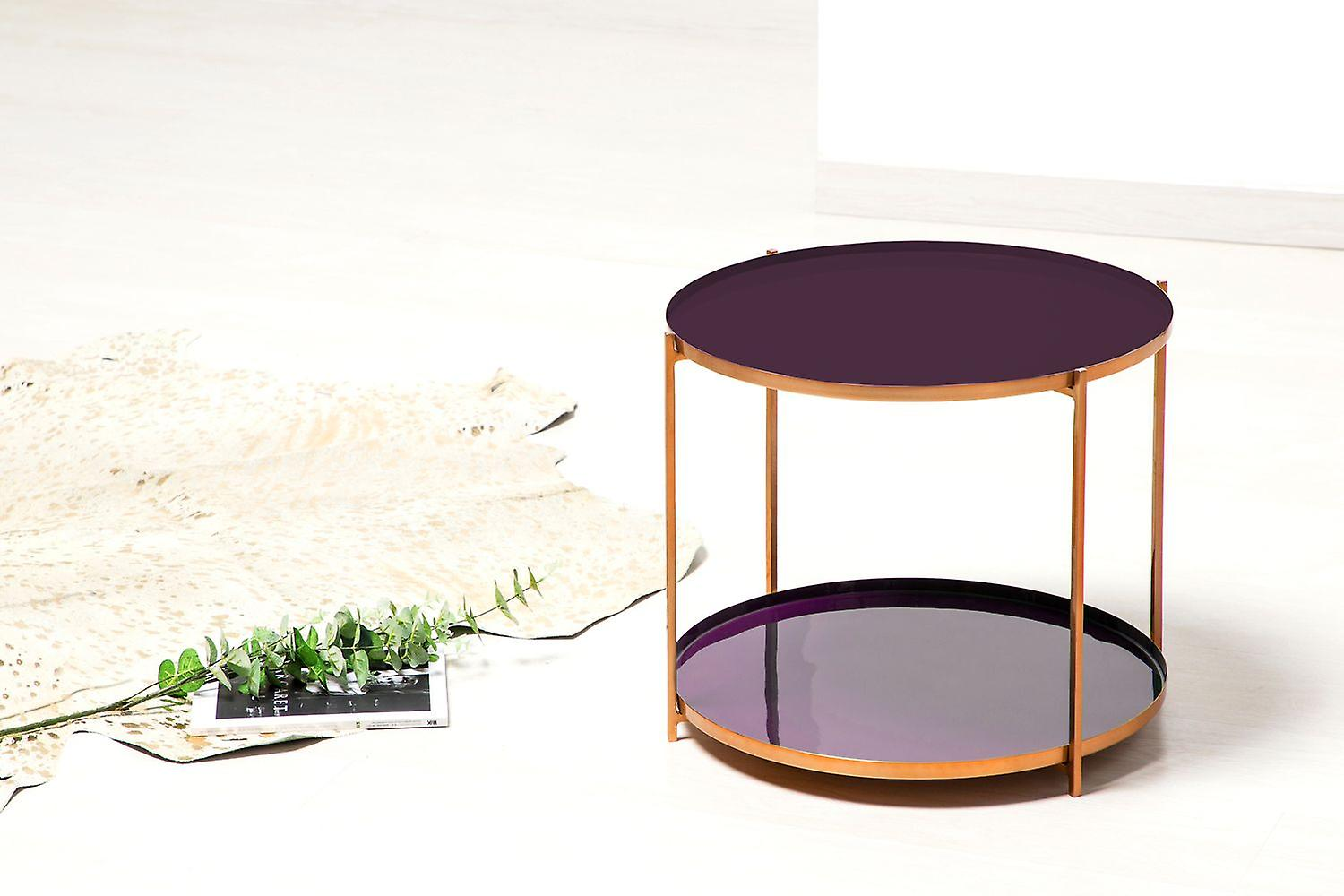 Strange Side Table Table Modern Bedside Table Sofa Table Purple Purple Theyellowbook Wood Chair Design Ideas Theyellowbookinfo