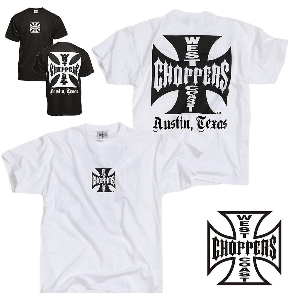 0f923c27 West Coast Choppers T-shirt Iron Cross ATX | Fruugo