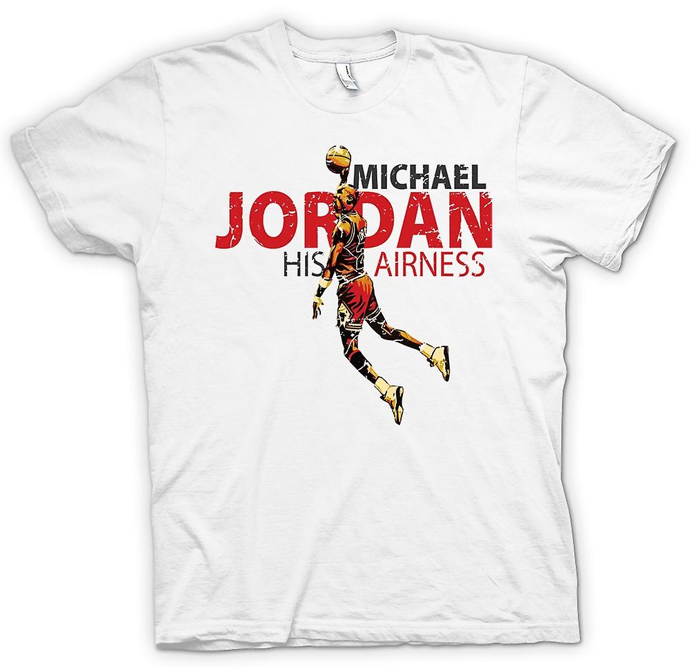 chaussures de séparation 4a316 bc366 Mens T-shirt - Michael Jordon - His Airness