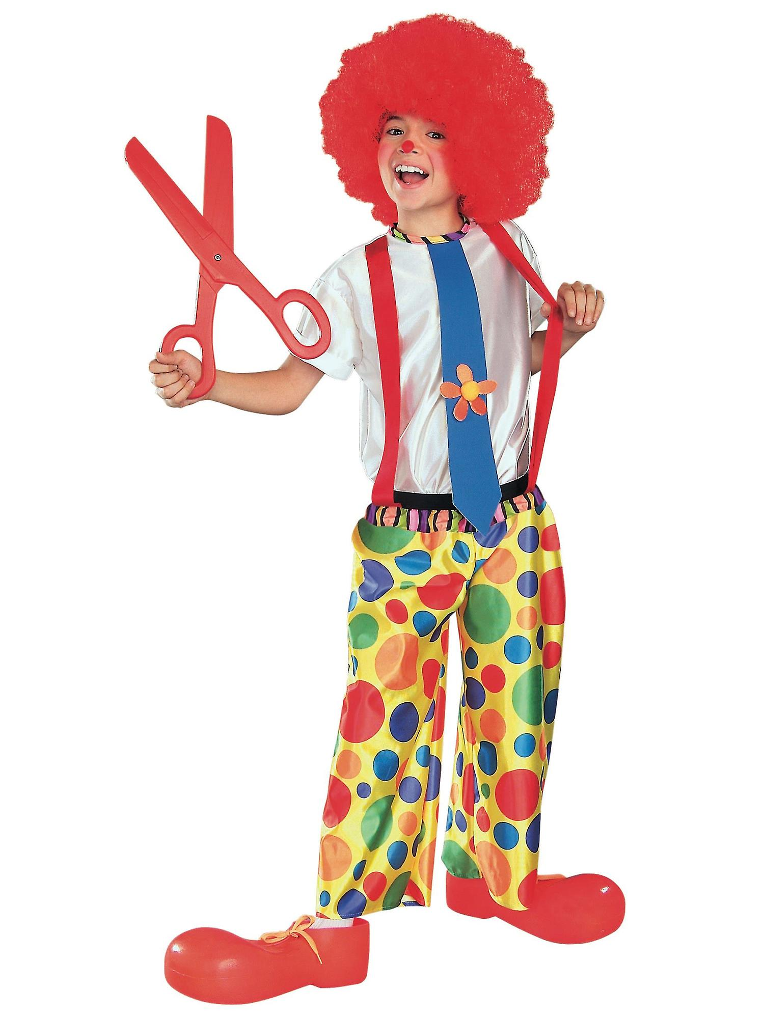 Chuckle King Clown Circus Birthday Party Dress Up Book Week Boys Costume