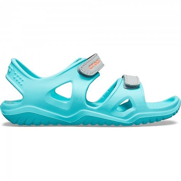 Crocs 204988 Swiftwater River Sandal Kids Sandals Pool