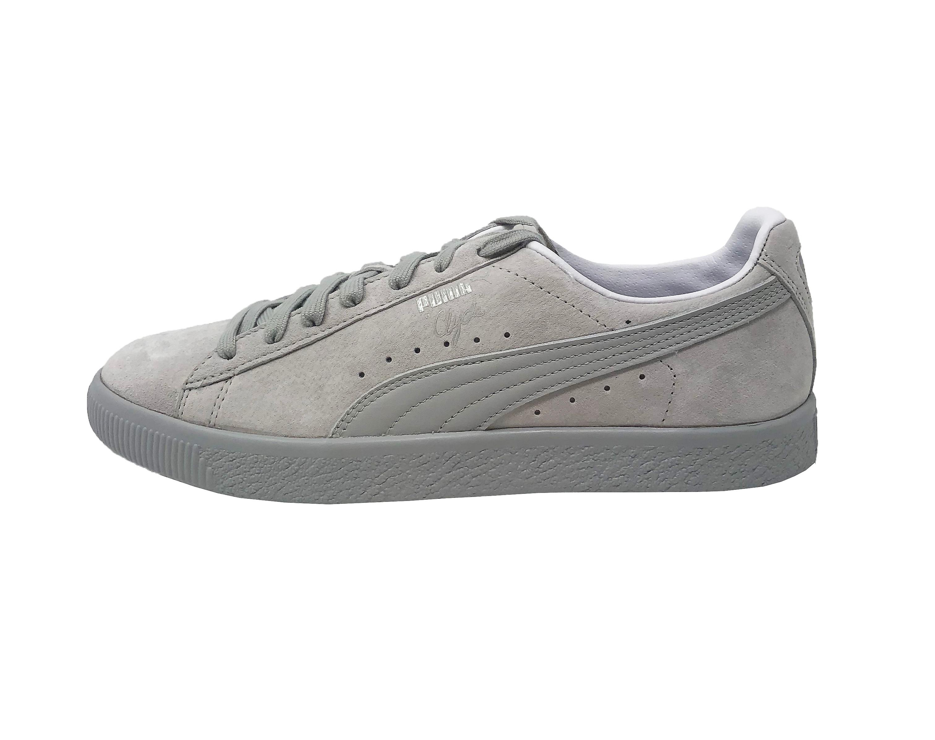 meet 0dd2b 6cb5a Puma Clyde Normcore Suede 363836 05 Mens Trainers