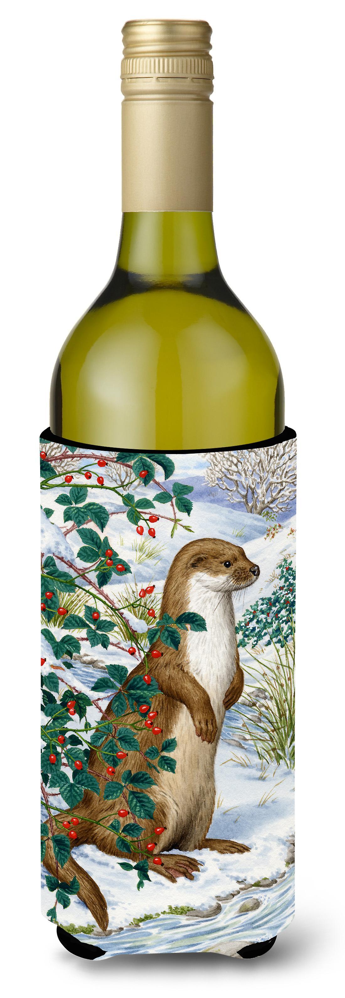 Carolines Schätze ASA2047LITERK Otter Wein Flasche Getränk Isolator ...
