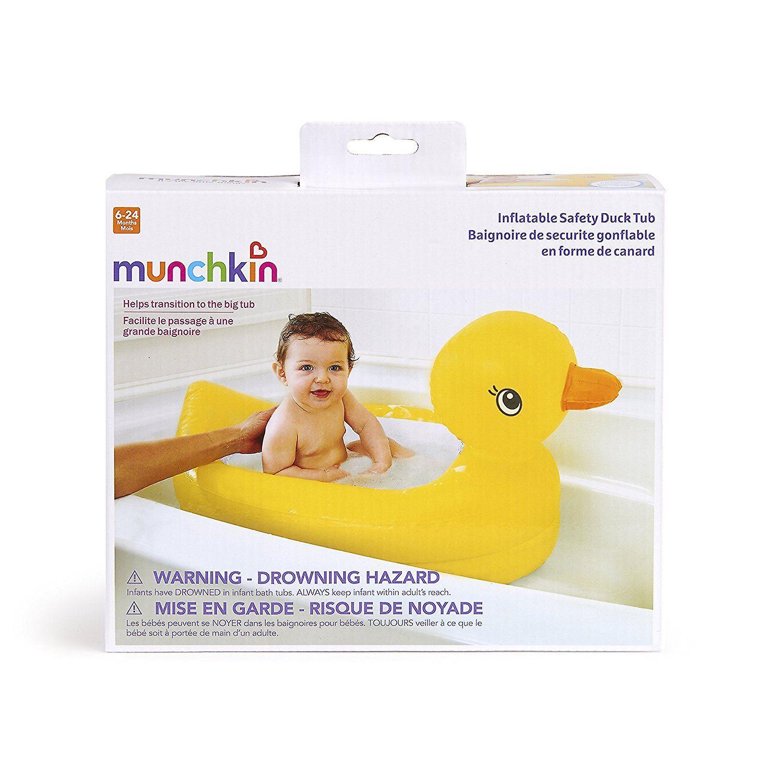 /Munchkin Baignoire B/éb/é Gonflable Canard Nouveau/