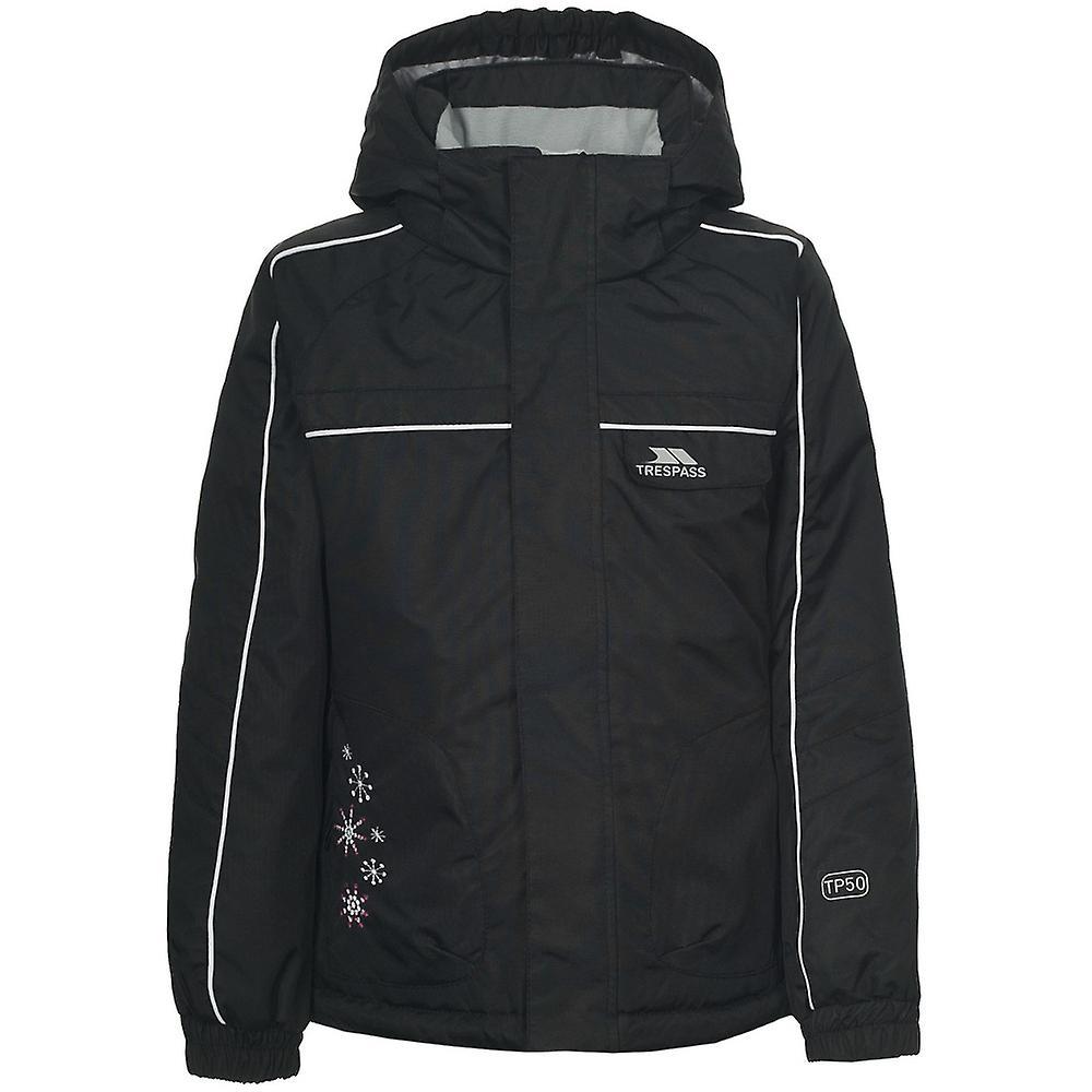 e40744ffd Trespass Girls Jaya Waterproof Breathable Padded Ski Jacket