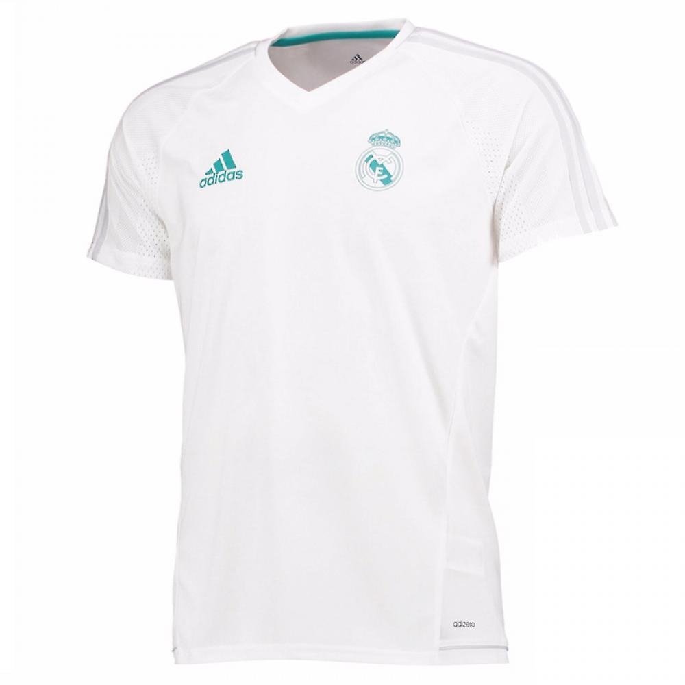 ea4ec3251dd 2017-2018 Real Madrid Adidas Training Shirt (White)   Fruugo