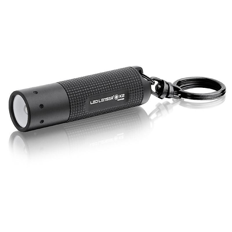 LED Lenser K2 - 25 lumen - nyckelring ficklampa med batterier - senaste  versionen 69b48be5f1710