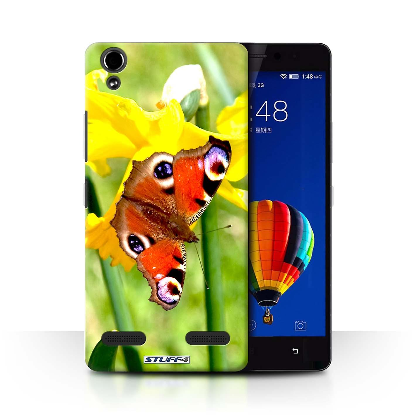 Stuff4 case cover for lenovo k3 k30 t butterfly floral for Housse certification pa