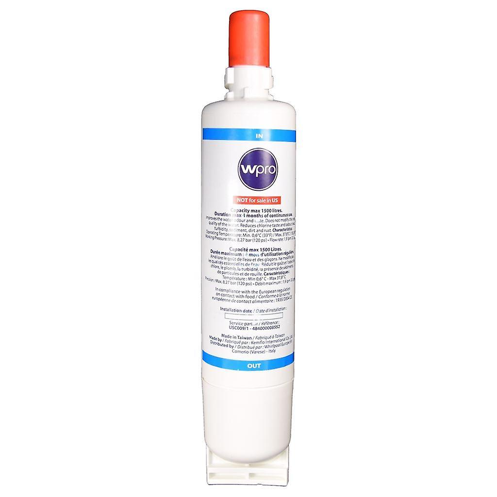 Kuhlschrank Gefrierschrank Wasser Filter Usc009 1 Wpro Passt Whirlpool Gerate