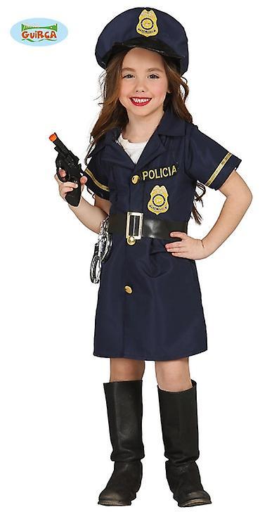 Guirca polis kostym för flicka polis polis kostym klä  2d1bc38f00dbb