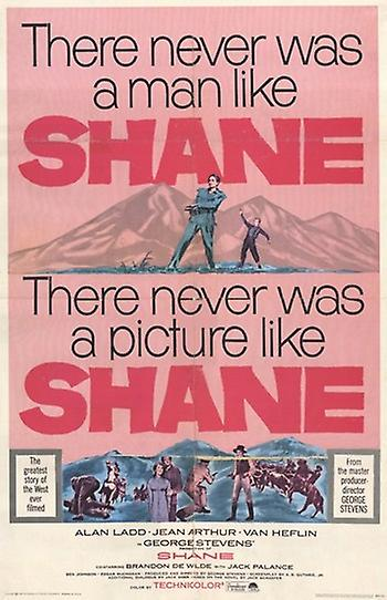 Shane movie poster