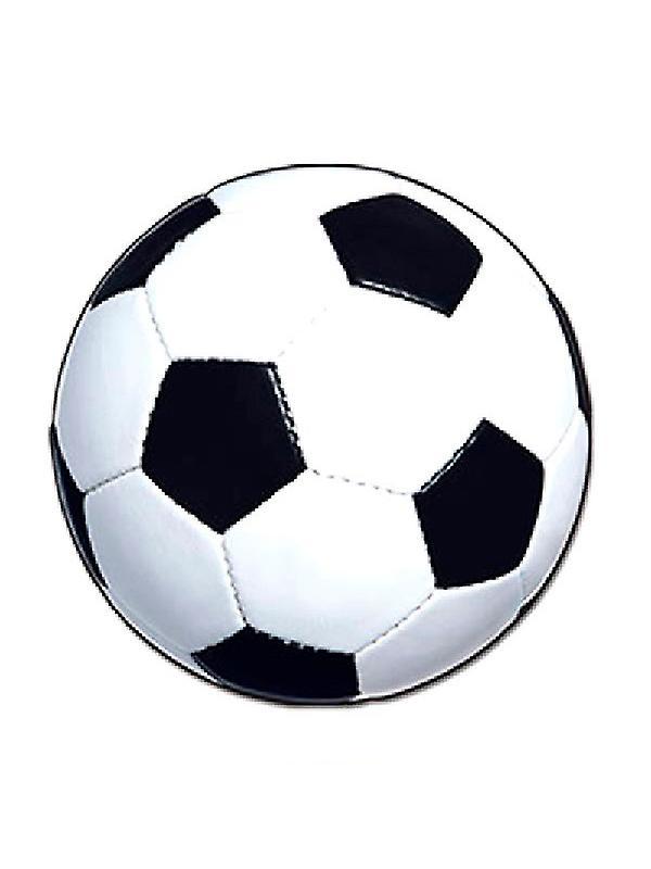 voetbal bal kartonnen uitsnede fruugo nederland
